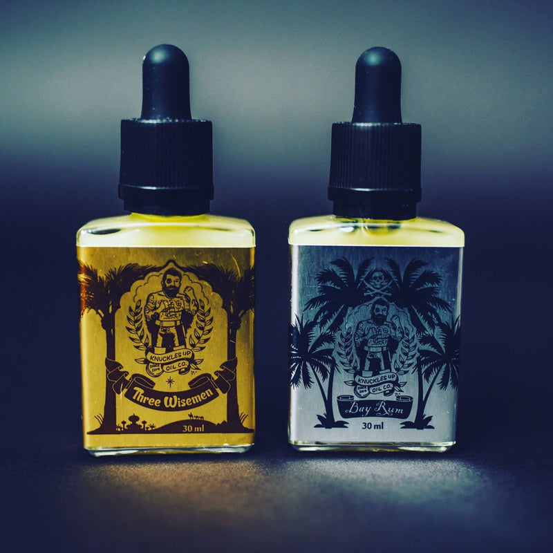 Knuckles Up Beard Oil Limited Scent- Bay Rum
