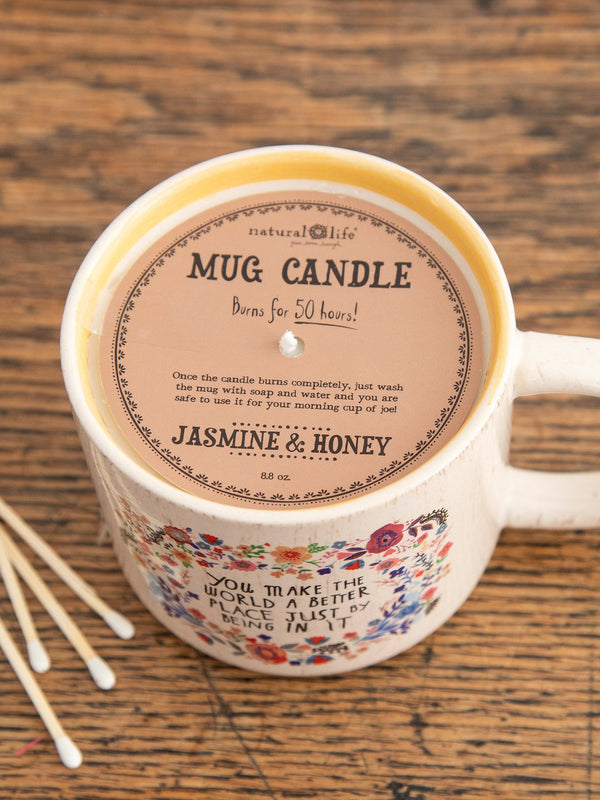 Natural Life Mug Candle - World Better Place