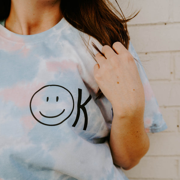 Just OK Smiley Tee