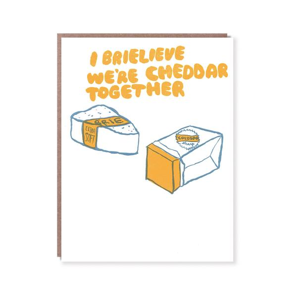 Cheddar Together Card