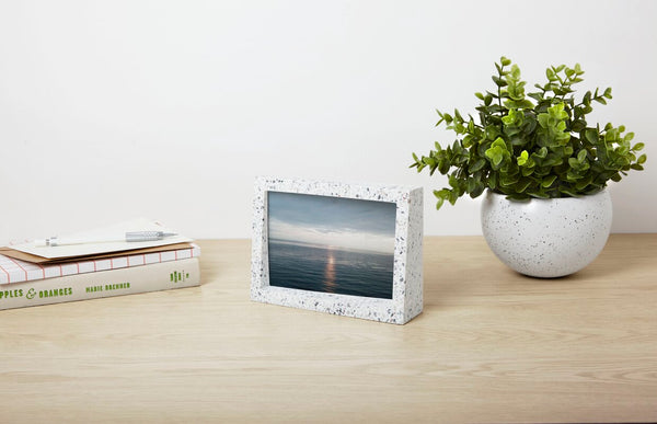 Edge Picture Frame 4x6 Grey/Multi