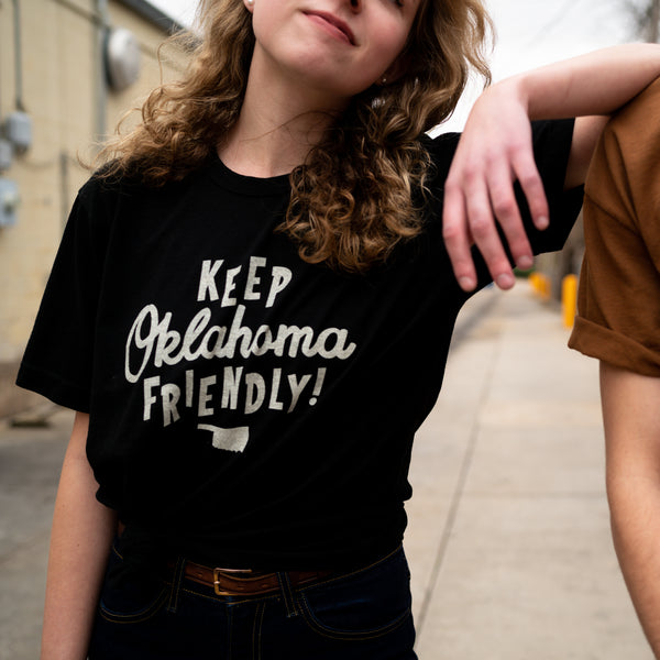 Keep Oklahoma Friendly Tee