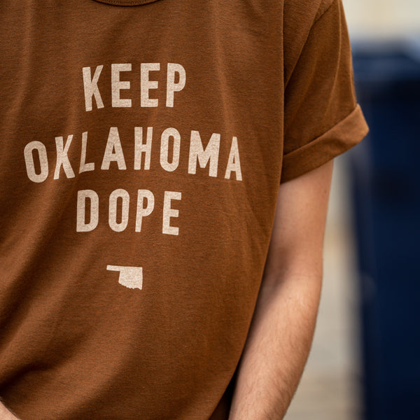FINAL SALE Keep Oklahoma Dope Tee