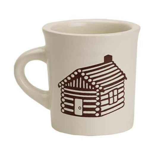 O.R.E. Cuppa This Cuppa That Mug - Log Cabin