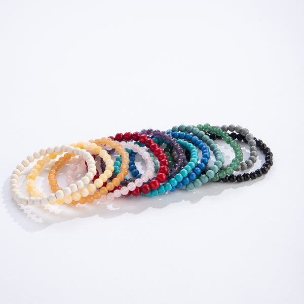 Natural Bead Bracelet Asstd.