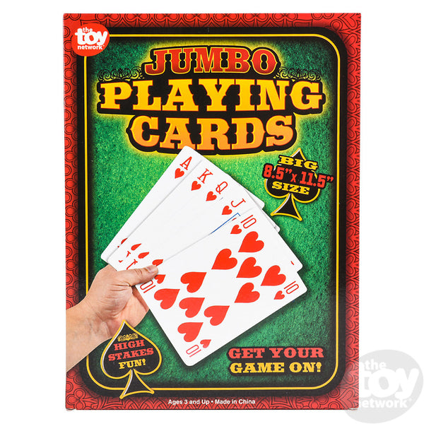 Jumbo Poker Card Deck