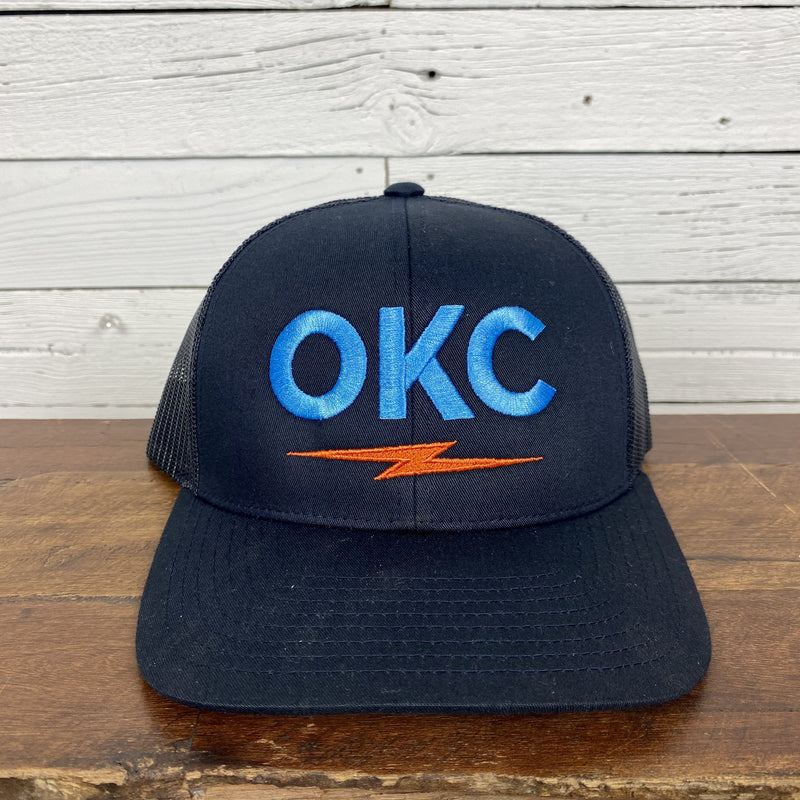 OKC Bolt Hat