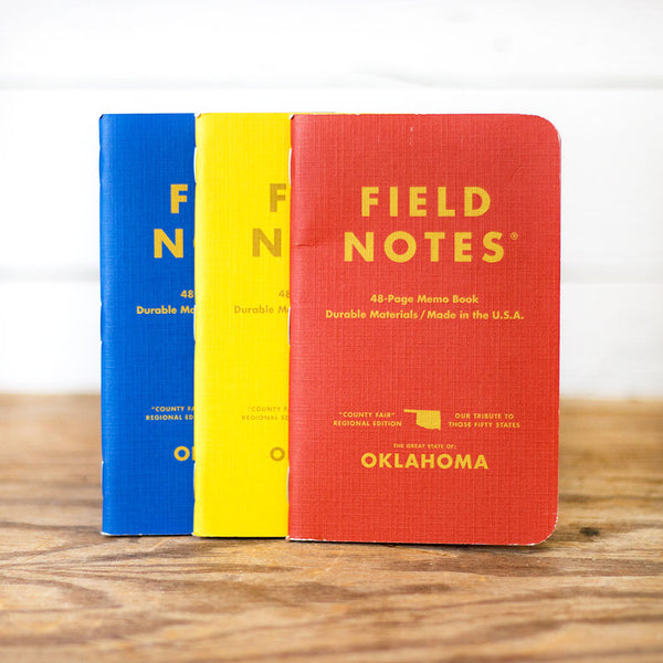 Field Notes - OK County Fair