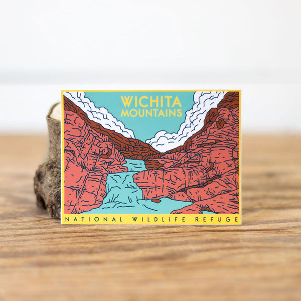 Wichita Mountains Sticker