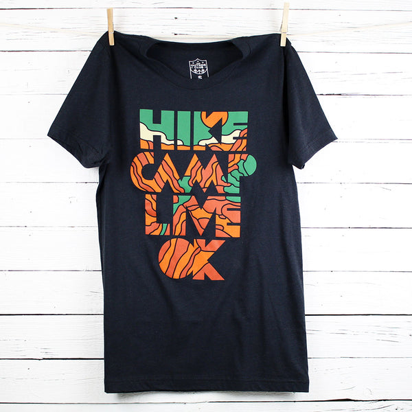 Hike, Camp, Live OK Tee