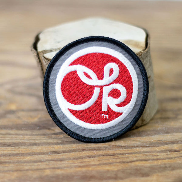 Walkingstick Design Red Dot OK Patch