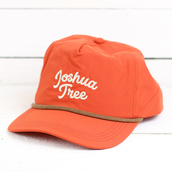 Joshua Tree Vintage Hat - Rust