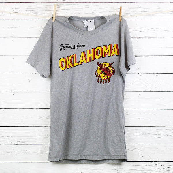 FINAL SALE Greetings from OK Tee