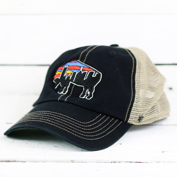 Desmond Mason Black Trawler '47 Clean Up Buffalo Hat