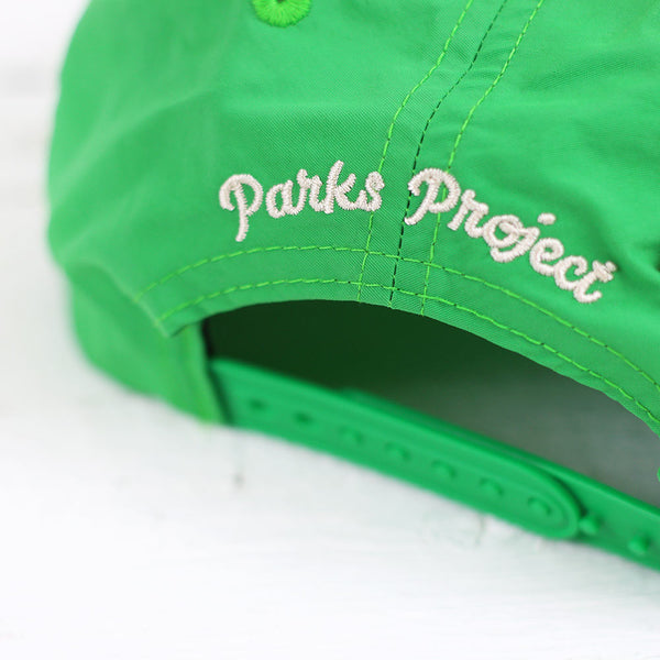 I Love Parks Vintage Hat - Green