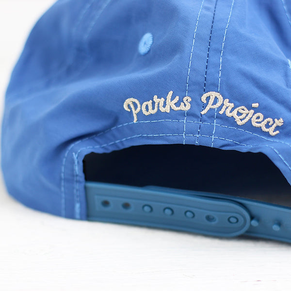Rocky Mountain Throwback Hat - Stone Blue