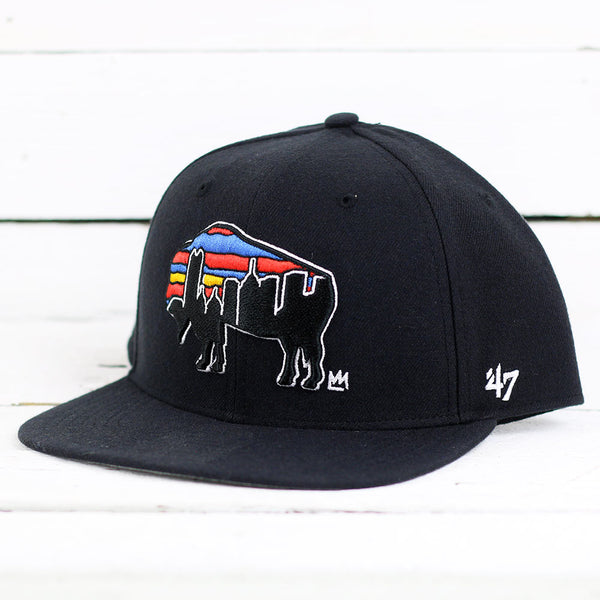 Desmond Mason Black '47 Captain Buffalo Hat