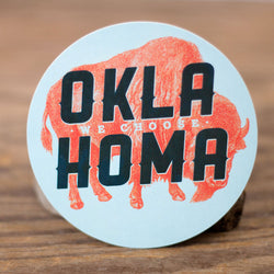 We Choose Oklahoma Sticker