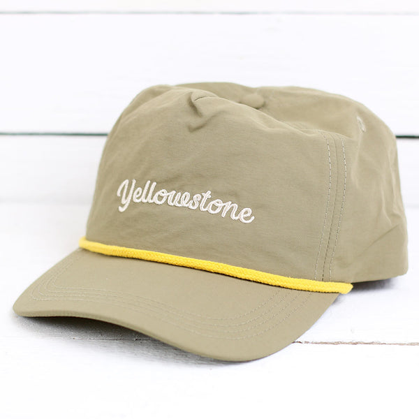 Yellowstone Throwback Hat - Brown