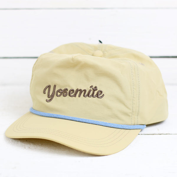 Yosemite Vintage Hat - Light Grey