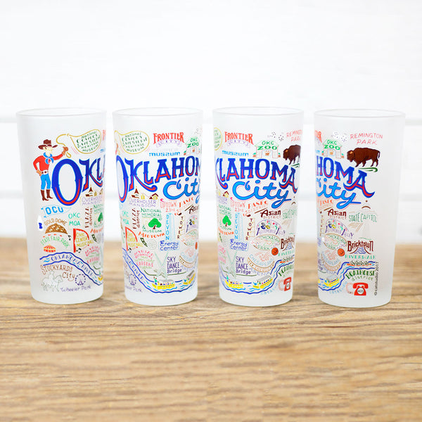 Oklahoma City Individual Glass