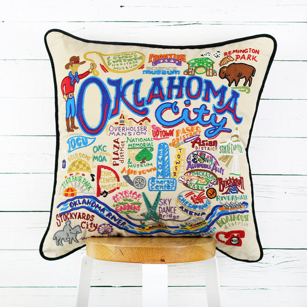 Oklahoma City Pillow