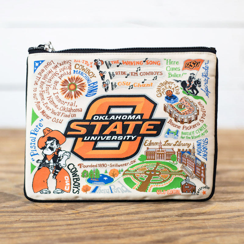 FINAL SALE Oklahoma State University Pouch