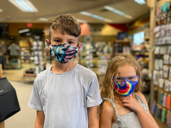 Kid's Tie Dye Face Mask