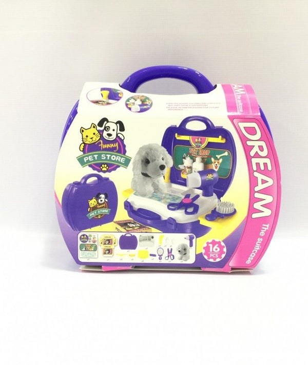 Puppy Pet Shop Play Set