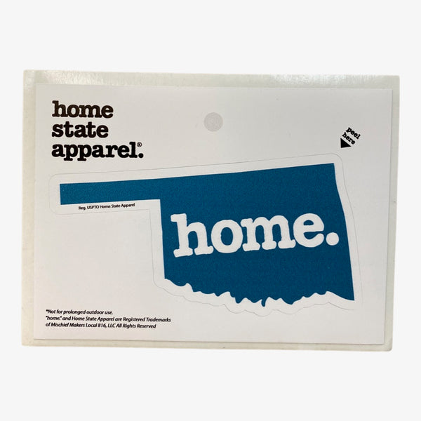 Home. Sticker - Navy