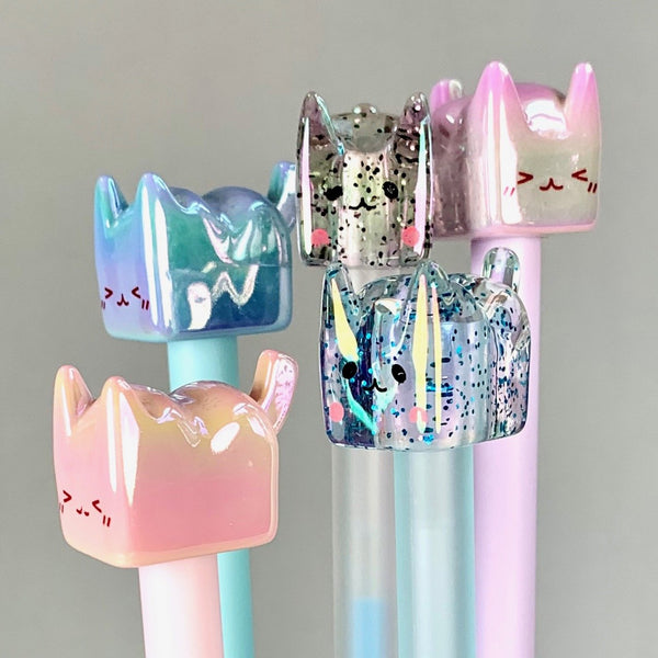 Crystal Cat Pen