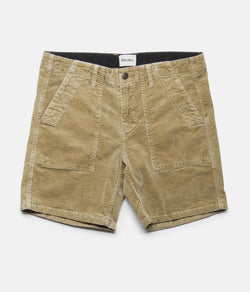 FINAL SALE Corduroy Bunker Walkshort