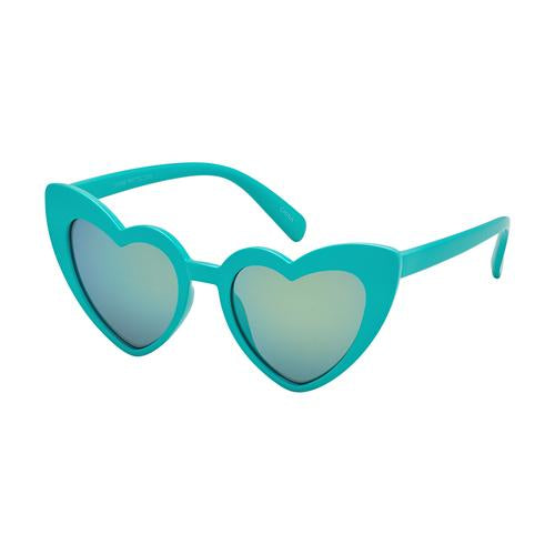Kids - Teal Cat Eye Heart