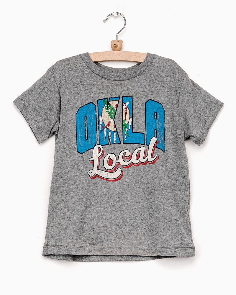 Kids OKLA Flag Tee