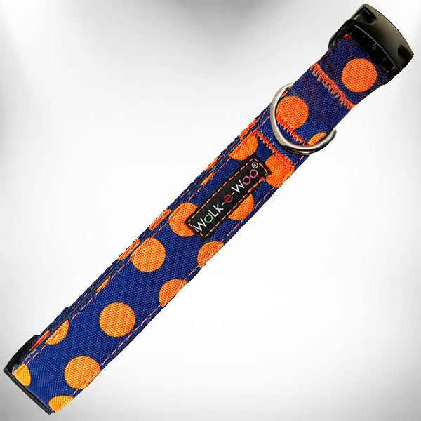 Polka Dot Collar Blue/Orange - LG