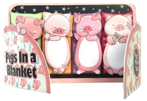 Pigs In A Blanket Sticky Memo Tabs