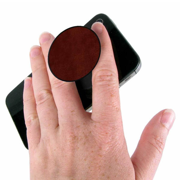 Popsockets - Brown Vegan Leather