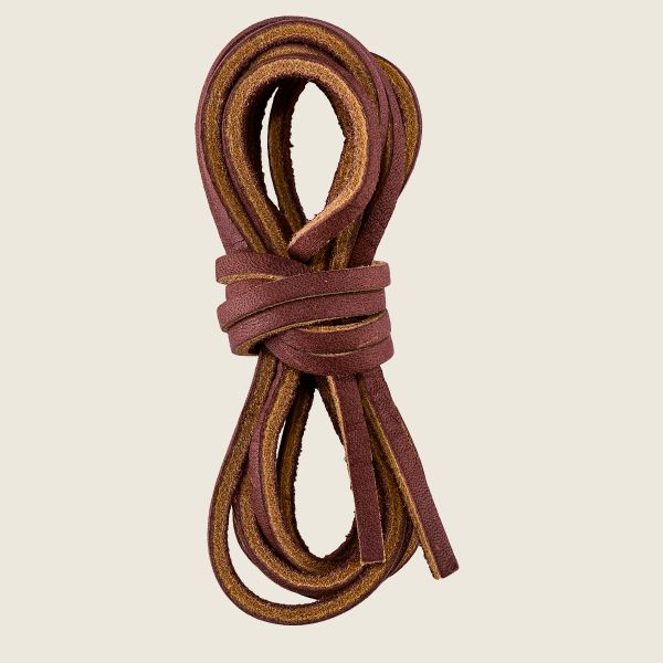"Red Wing 80"" Chestnut Leather Boot Laces"