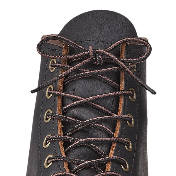 "Red Wing 48"" Black/Brown Taslan Lace"