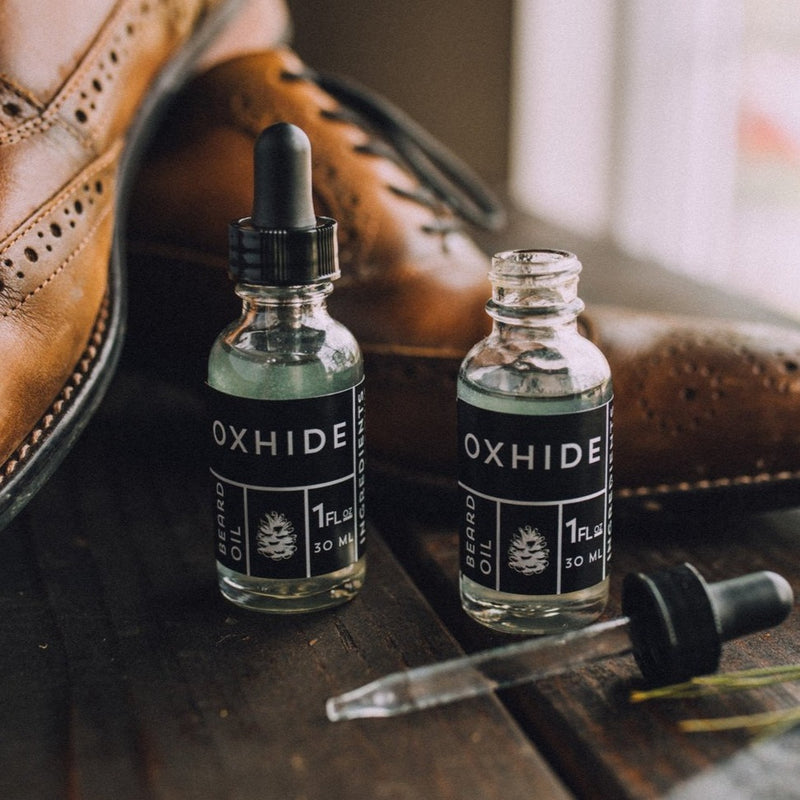 The Clad Stache Beard Oil - Oxhide