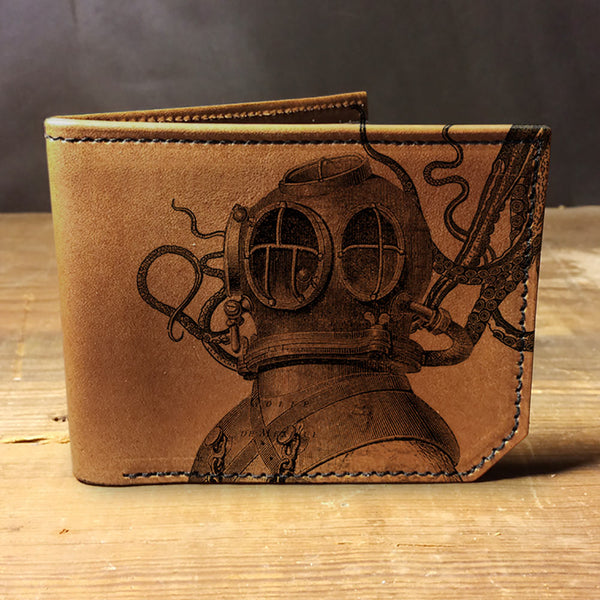 Backerton Leather Wallet - Aquanaut