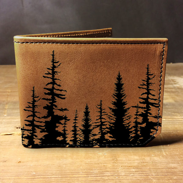 Backerton Leather Wallet - Aspens