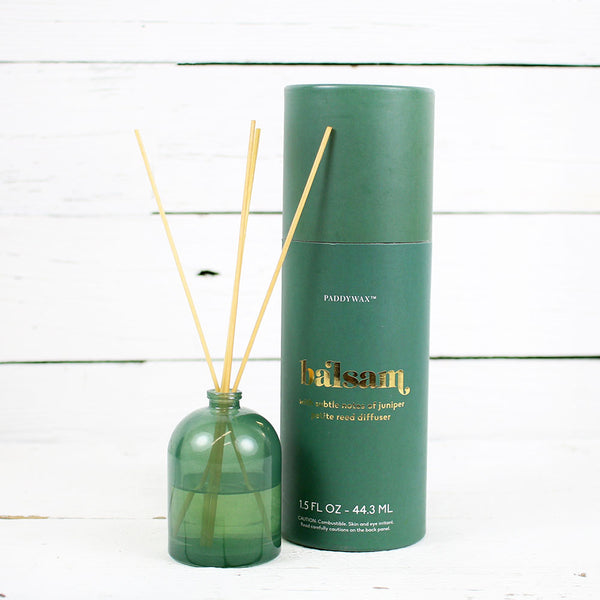 Petite Diffuser 1.5oz Green Glass - Balsam