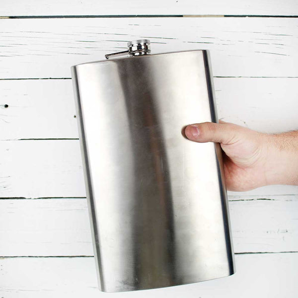 FINAL SALE True Brands Titanic 64oz Flask