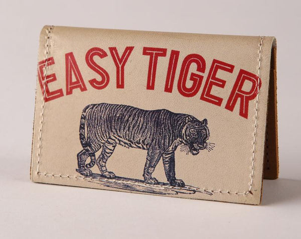 Backerton Easy Tiger Leather Cardholder Wallet