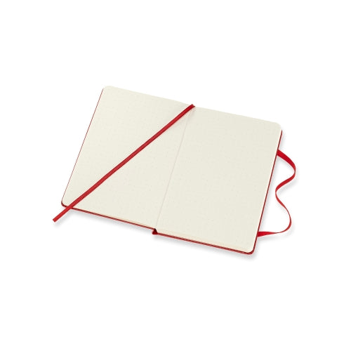 Classic Dotted Pocket Notebook - Red