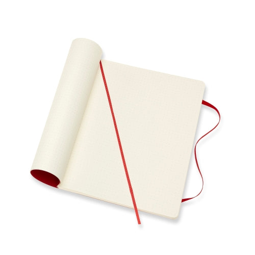 Classic XL Dotted Notebook - Red