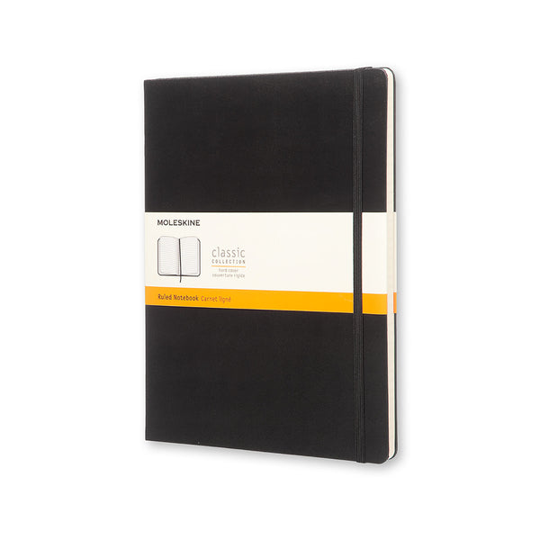 Classic Ruled XL Notebook - Black