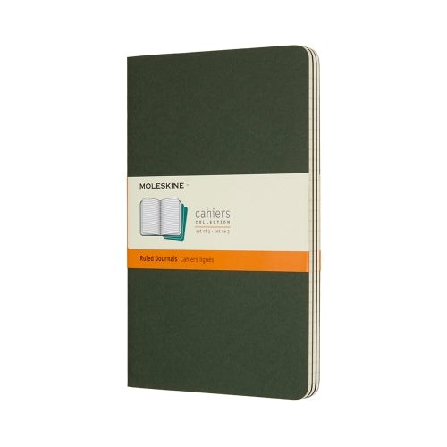 Cahier Large Ruled Journal - Myrtle Green