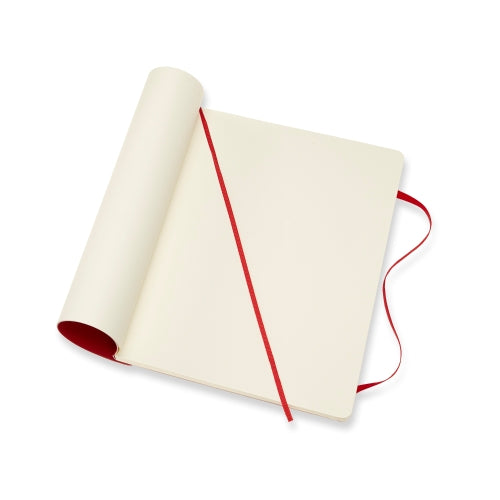 Classic XL Plain Notebook - Scarlet Red